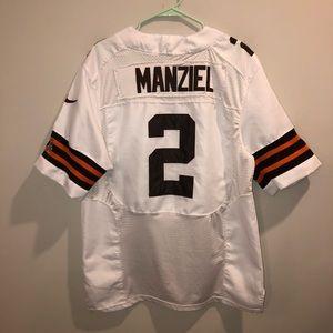 NFL Cleveland Browns Johnny Manziel #2 VTG Jersey